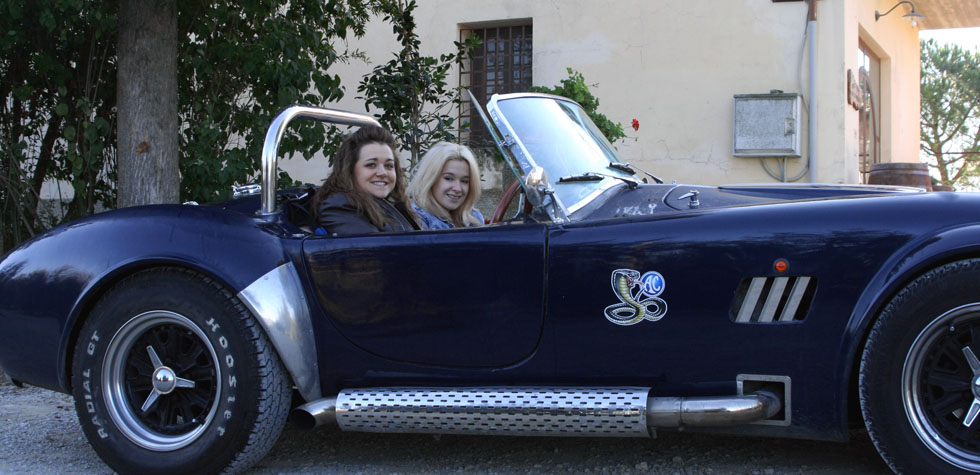 Two Girls and a Kit Car
